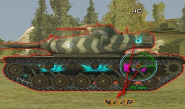 world of tanks chance to hit mod