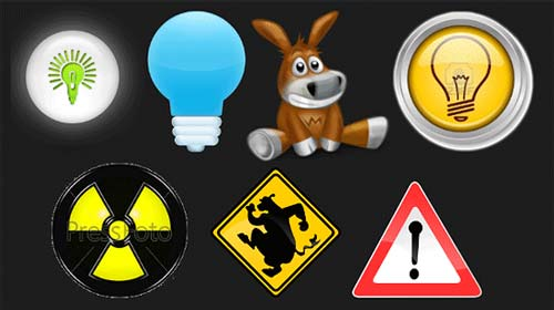 Несколько веселых вариантов лампочек шестого чувства 0.9.14