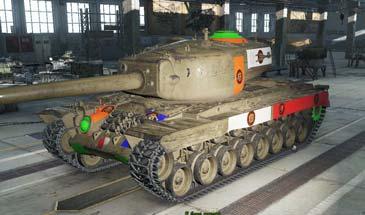 Мод: Уязвимые места танков 0.9.14