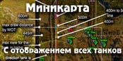 Minimap для world of tanks от locastan