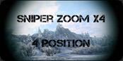 Zoom x на снайперском режиме