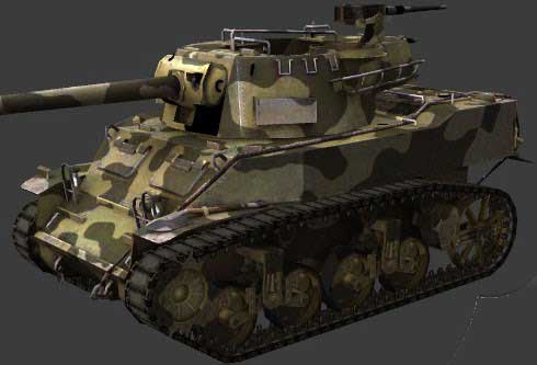 M8A1 - ПТ-САУ США