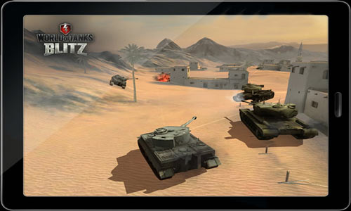 Скачать World of Tanks Blitz на Android, iOS
